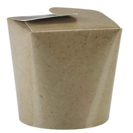 Envase de Comida para Llevar Kraft 529ml (50 Uds)