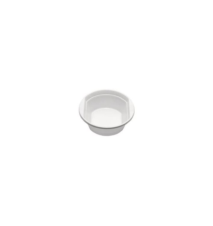 Bol de Plástico PS Blanco 300ml Ø11,9cm (100 Uds)