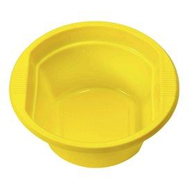Bol de Plástico PS Amarillo 250ml Ø12cm (30 Uds)