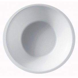 Bol de Plastico Blanco Ø155mm 450ml (50 Uds)