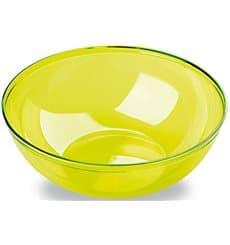 Bol de Plástico Verde 3500ml Ø 27 cm (20 Uds)
