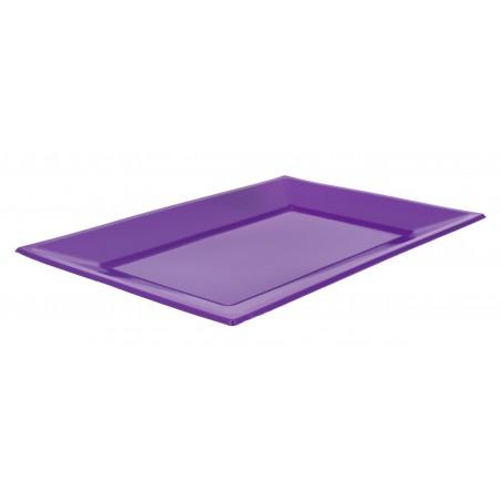 Bandeja de Plastico Lila 330x225mm (3 Uds)