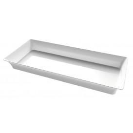 """Mini Bandeja Degustación """"Karo"""" Transparente 5x13 cm (24 Uds)"""