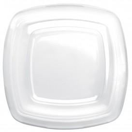Tapa de Plastico Transp. para Plato PET 230mm (25 Uds)
