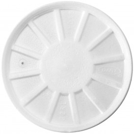 Tapa Isotérmica con Respidadero Blanca Ø11,7cm (50 Uds)