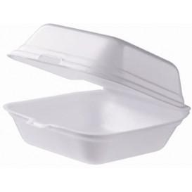 Envase Hamburguesa FOAM Pequeña Blanca (125 Uds)