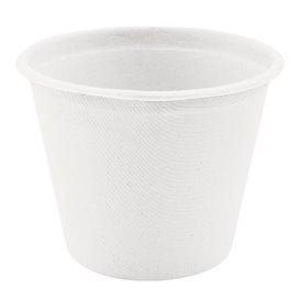 Tarrina de Caña de Azucar Blanca Ø95mm 425ml (50 Uds)