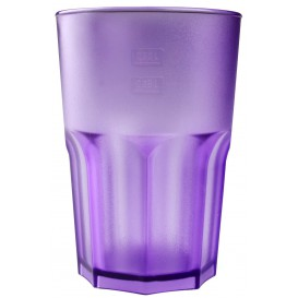Vaso Reutilizable SAN Frost Lila 400 ml (5 Uds)