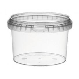 Envase Plastico con Tapa Inviolable 120ml Ø6,9cm (25 Uds)