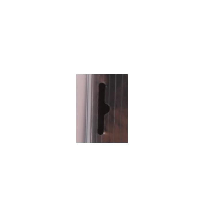 Bolsas de Polietileno con Autocierre y Eurotaladro 11,5x33,5cm G200 (100 Uds)