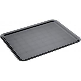 Bandeja Plastico Tray Negra 37x50cm (4 Uds)