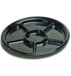 Bandeja Plastico 6C Marmol 46 cm (5 Uds)