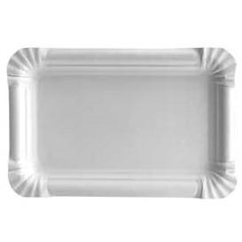 Bandeja de Carton Rectangular Blanca 12x19 cm (1500 Uds)