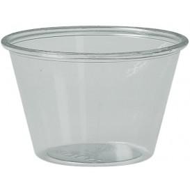 Tarrina para Salsas rPET Cristal 120ml Ø7,3cm (250 Uds)