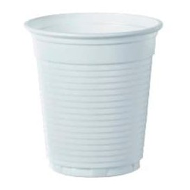 Vaso de Plastico PS Vending Blanco 166ml Ø7,0cm (100 Uds)