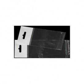 Bolsas POBB Solapa Adhesiva y Eurotaladro 6,5x17cm G160 (100 Uds)
