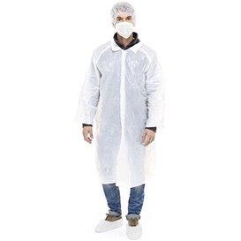 Kit Protección PE 3 Piezas + Mascarilla Blanco (1 Kit)