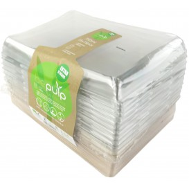 Kit Bandejas Caña de Azúcar+tapa 220x160x60mm (1 Kit)