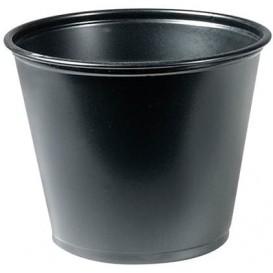 Tarrina para Salsas PP Negro 165ml Ø7,3cm (125 Uds)