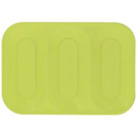 "Bandeja de Plastico PP ""X-Table"" 3C Lima 330x230mm (2 Uds)"