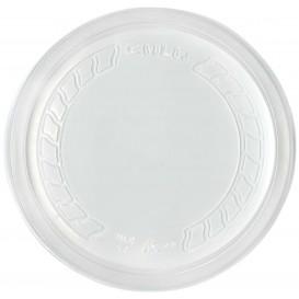 """Tapa de Plastico PP """"Deli"""" Translucido Ø120mm (50 Uds)"""