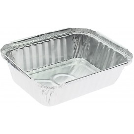 Bandeja Aluminio 3C. 360ml 156x116x35mm (100 Uds)