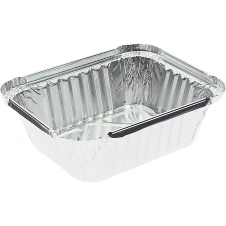 Bandeja Aluminio 475ml 146x121x40mm (100 Uds)