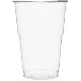 Vaso de Plastico PET Cristal Transparente 350 ml (50 Uds)
