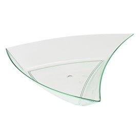 "Triangulo Degustacion ""Water Green"" 12,5x12x2cm (12 Uds)"
