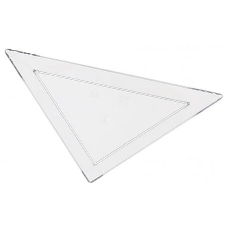 Plato Degustacion Plastico Triangular 5x10cm (8 Uds)
