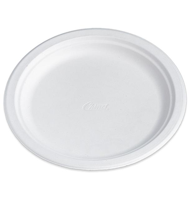 Plato de Cartón Chinet 240mm Blanco (100 Uds)