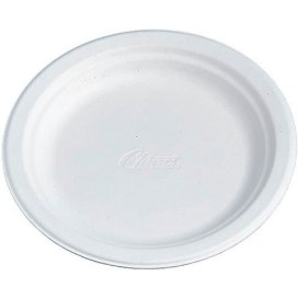Plato de Carton Chinet Blanco 270mm (125 Uds)