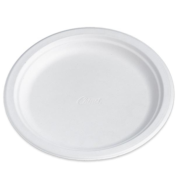 Plato de Carton Chinet Blanco 270mm (125 Uds)