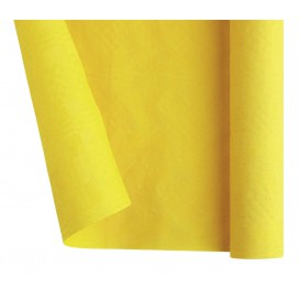 Mantel de Papel Rollo Amarillo 1,2x7m (1 Ud)
