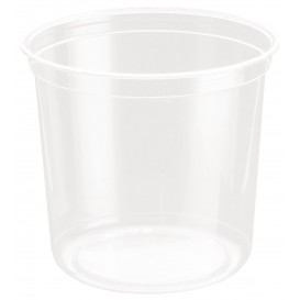 Tarrina de Plastico rPET DeliGourmet 24 Oz/710ml (50 Uds)