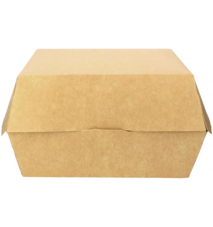 Caja Kraft para Hamburguesa Mega 18x16,5x9 cm (25 Uds)