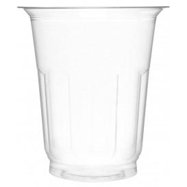Tarrina de Plástico PET Cristal 235ml Ø8,1cm (50 Uds)