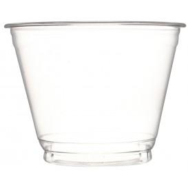 Tarrina de Plástico PET Cristal 270ml Ø9,3cm (50 Uds)