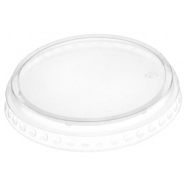 Tapa Plana Cerrada PET Cristal Ø9,5cm (112 Uds)