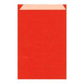 Sobre de Papel Kraft Roja 19+8x35cm (125 Unidades)
