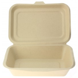 Envase MenuBox Caña de Azúcar 175x125x53mm (50 Uds)