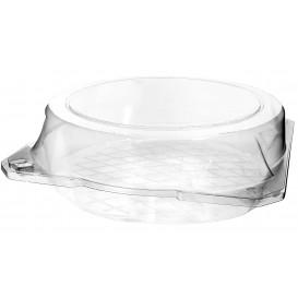 Envase Tapa Bisagra para Respotería PET Ø23x8cm (23 Uds)