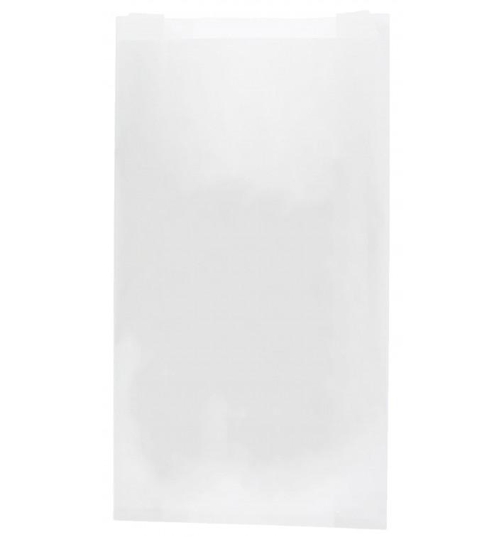 Bolsa de Papel Blanca 14+7x24cm (100 Unidades)