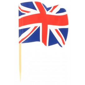 "Pinchos Banderita ""UK"" 65mm (144 Uds)"