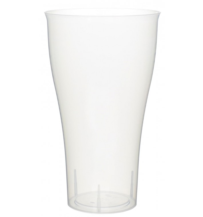 Vaso de Plastico Cocktail 430ml PP Transparente (15 Uds)