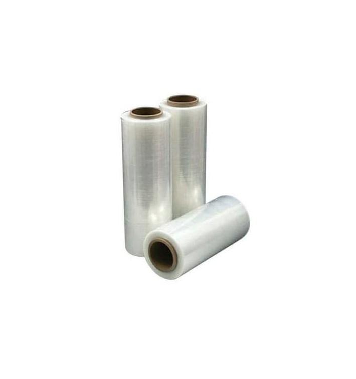 Film estirable manual 500mm 2,1Kg Transparente (6 bobinas)