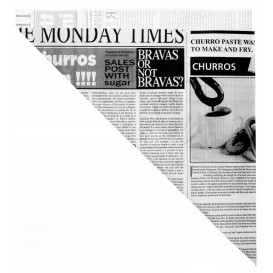 Cono de Papel Antigrasa Times 200mm 70g (250 Uds)