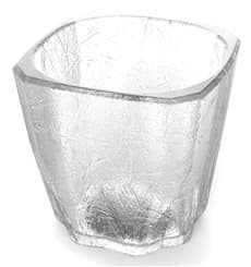 "Vaso Reutilizable SAN Mini Drink ""Cube"" 200ml (8 Uds)"