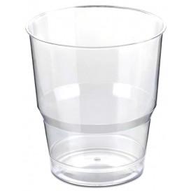 Vaso Plastico Enfundado PS Cristal Duro 250ml (40 Uds)