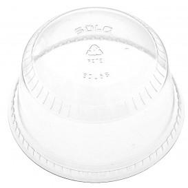 Tapa Cúpula Cerrada PET Cristal Ø9,8cm (50 Uds)